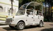 Madagascan firm Karenjy has built three popemobiles.  By RIJASOLO (AFP/File)
