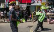 Madagascar has ruled that people caught not wearing a face mask outside will be forced to sweep the streets.  By RIJASOLO (AFP)