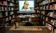 Naguib Mahfouz's desk is just one of the items on display at his museum in the Al-Azhar district of Egypt's capital Cairo.  By Khaled DESOUKI (AFP)