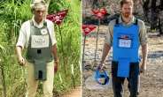 Princess Diana walked across a cleared minefield near the central Angolan city of Huambo in 1997.  By - (The HALO Trust/AFP)