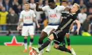 Victor Wanyama (C) started both legs of Tottenham's thrilling Champions League semi-final victory over Ajax.  By EMMANUEL DUNAND (AFP/File)