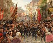 A Journey through History: Aŋlɔ, UK, Danes and the Germans