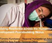 Building Resilience Is Critical To Minimise The Impact Of Humanitarian Crises