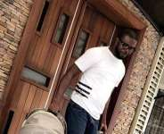 Actress, Funke Akindele's Hubby Steps out with His Twins