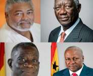 The Two Departed and the two Living Presidential Johns of the Fourth Republic of Ghana: My Thoughts Aloud