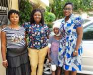 Canadian-Based Ghanaian Pastor Extends Support To 9-Year-Old Burnt Victim