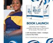 Georgina Fiagbenu's 'WISH LIST' Book To Be Launched On November 5
