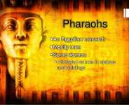 The Pharaohs and the Egyptians of Yester Years.