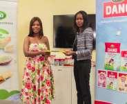 Deloris Frimpong Manso aka Delay unveiled Brand Ambassador for Dano Milk