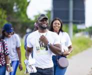 Yvonne Nelson, Prince David Storm Accra Streets over 'Fix Us' Premiere On December 6