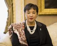Secretary-General makes first official visit to The Gambia after it re-joined Commonwealth