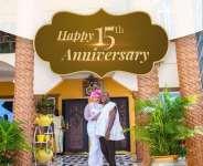 Happy Anniversary: The Commeys Clock 15