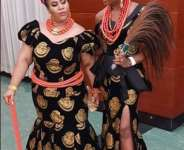 Chioma Akpotha Twins with Chioma Omeruah