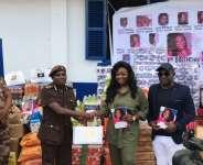 Jackie Appiah Donates To Borstal Institute On Birthday