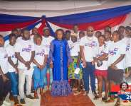 Barbara Oteng-Gyasi donate equipment to film producers