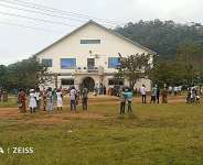 Domeabra: Presby Church closed down as angry members protest against pastor