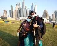 Pizarea CEO Henry Ameleke becomes first Ghanaian to Skydive on Dubai's Palm Drop Zone