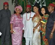 Chief Donatus Okonkwo And Family Celebrate New Anambra Couple In Nnewi South