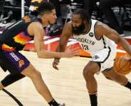 Brooklyn Nets trailed by 24 points at one point during the first half