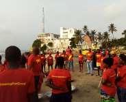 Lucozade Ghana Cleans Osu Beach
