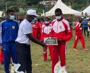 Omanhene of Sefwi-Wiawso, Katakyie Kwasi Bumagama II graces national cross country race
