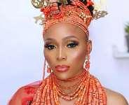 Face of Universe Nigeria Top Model 2020 Jessica Emueze stuns inbridal photos