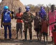 Ghanaian Peacekeepers help restore calm and stability following recent violence in South Sudan