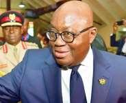 The Ghanaian leader, Nana Akufo Addo, photo credit: Ghana media