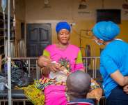 Habiba Sinare with Mama Mariam Foundation to help 9 District Health Centre's maternity blocks in the North