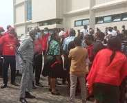 NLA Staff demand removal of DG amidst massive demo