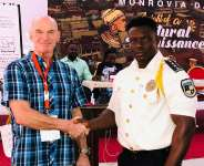 Bowier Trust Foundation Switzerland honours Monrovia City Police