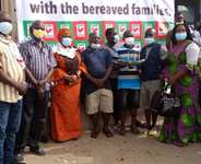 CPP sympathises, donates to bereaved families of Apam beach disaster