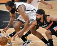 NBA: James Harden leads Brooklyn Nets past San Antonio Spurs; Utah Jazz beaten by New Orleans Pelicans