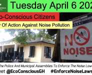 April 6 Starts Call For Action Against Noise Pollution