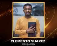 Clemento Suarez grabs Comic Actor of the Year Award