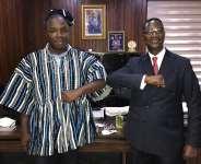 Ghanaian Ambassador hails Mayor Koijee for City Development