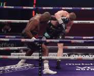 Whyte ruthlessly stopped Povetkin in round four in Gibraltar
