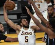 The LA Lakers are fourth in the Western Conference