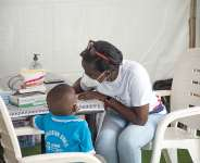 Children at Osu Children's Home engage with Pepsodent's #BrushWithMe Campaign