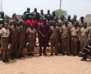 C/R: Dr. Minta Nyarku supports Elmina Fire Service Station