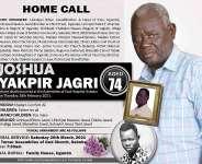 NPPs Joshua Yakpir Jagri dies at 74