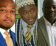 FROM LEFT TO RIGHT: Samuel Okudjeto Ablakwa, Alhassan Suhuyini, and Mahama Ayariga