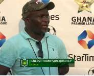 Our top six ambition has not changed - Ebusua Dwarfs coach Ernest Thompson