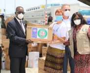 Ghana receives critical COVID-19 medical supplies