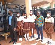 Techiman Municipal Assembly supports GES with over 1000 dual desk to improve Teaching and learning