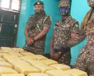 Zebilla: Immigration intercepts substance suspected to be India hemp