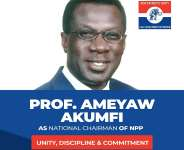 Ameyaw-Akumfi eyes NPP National Chairmanship job