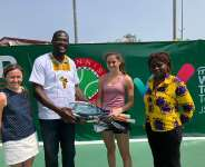 16-year-old tennis player from the UK donates rackets to support young Ghanaians