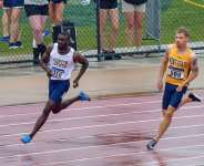 Joseph Paul Amoah opens sprint season with wind-aided 100m and 200m fast times