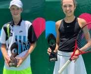 Schön and Liepert defend titles at  Tennis Foundation Ghana ITF J5 Accra Open